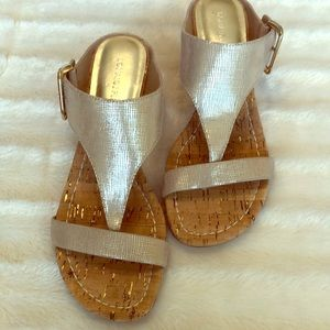 Donald J Pliner cork Wedge Sandal